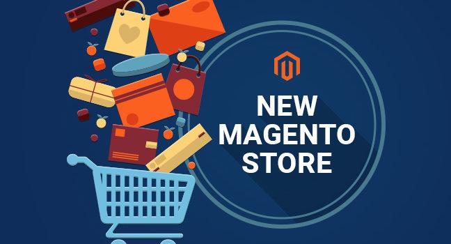 New Magento Stores